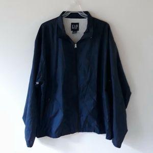 GAP   Windbreaker Navy Blue Jacket   XXL